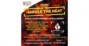 Will you Dare to Care for Gloucestershire Young Carers?